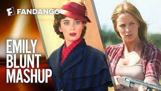 Emily Blunt Movie Mashup | Movieclips