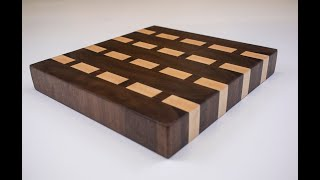Walnut END GRAIN butcher block cutting board!!!