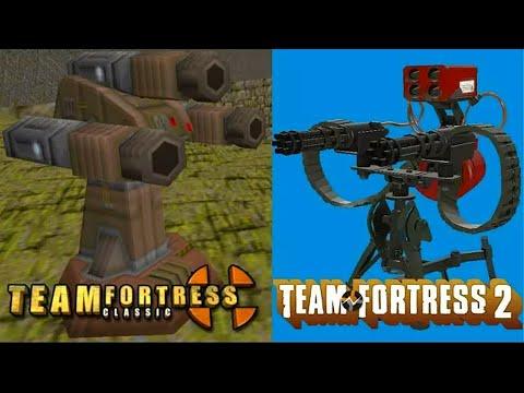 Evolution Of Sentry Guns In Team Fortress Youtube