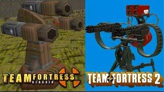 Evolution Of Sentry Guns In Team Fortress
