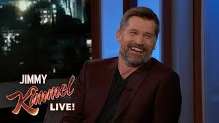 Nikolaj Coster-Waldau on Being Terrified in an Ice Cave & Living in LA