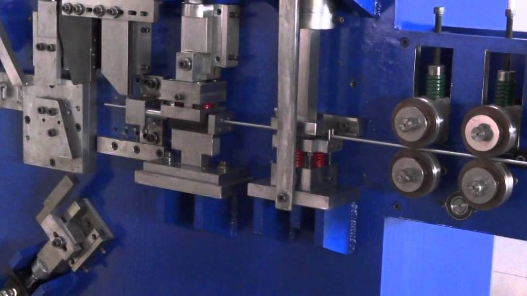Automatic Wire Bending Machine