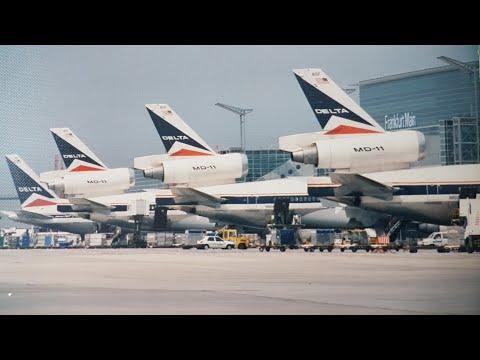 Delta Air Lines Line Maintenance Frankfurt Am Main Germany 1996