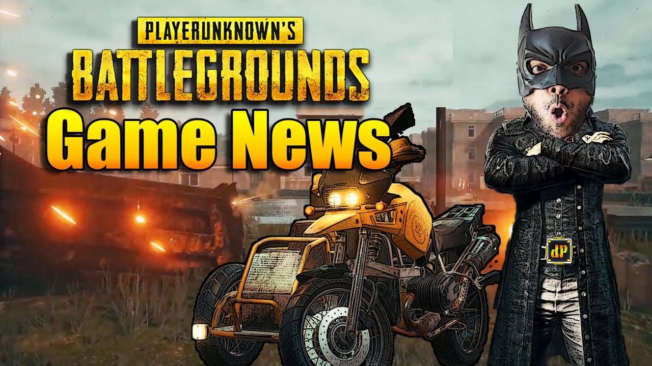 PLAYERUNKNOWN'S BATTLEGROUNDS-MOTORCYCLES! GAME NEWS! THE