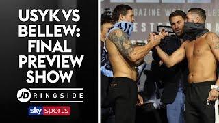 JD RINGSIDE | Oleksandr Usyk vs Tony Bellew | Final Preview Show