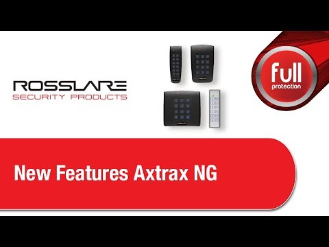 Rosslare - New Features Axtrax NG 2019/04/02 - YouTube