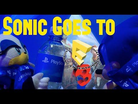 Sonic Goes to E3 2017 (DAY 3) - Marvel vs Capcom Infinite