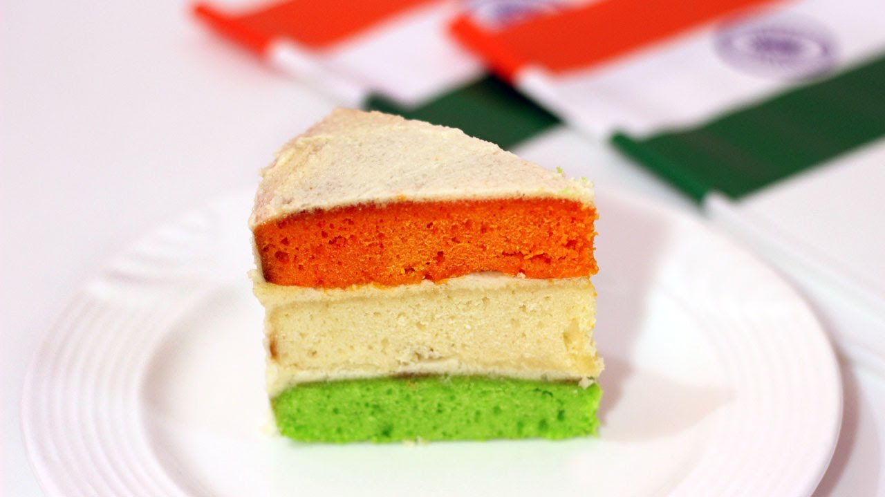 Indian Flag Birthday Cake