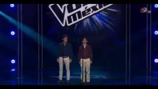 Alejandro y Miguel Perez Meza- Regresa a Mi- Audicion La Voz Mexico 2