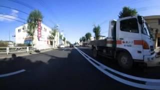 試作360°VR:ドカティモンスターS4Rで市街地を走る