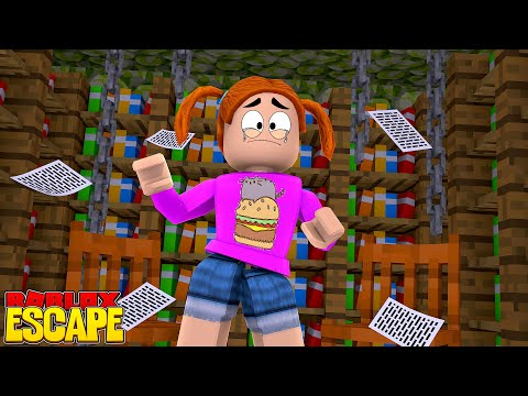Roblox Escape The Library Obby! - Toy Heroes Games