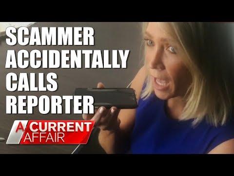 ATO Scammer Accidentally Calls Reporter | A Current Affair Australia