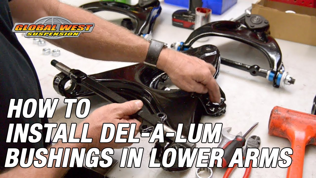 How To Install Del A Lum Bushings In 1963 82 Corvette