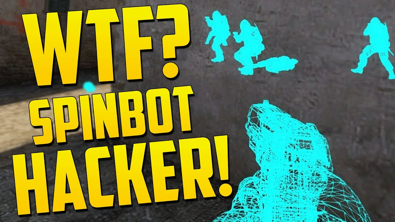 FIRST SPINBOT HACKER! - CS GO Overwatch Funny Moments