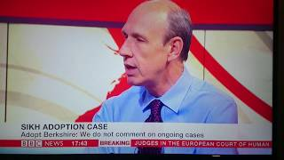 BBC NEWS24 discussion on overseas adoption