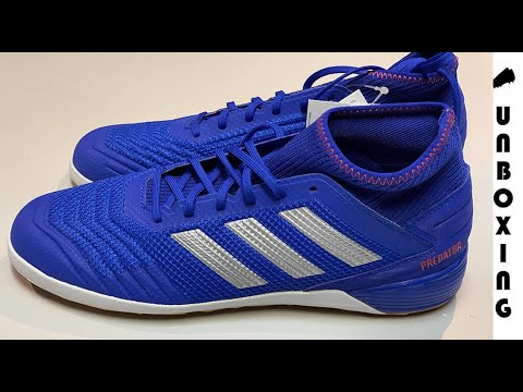 adidas Predator 19.3 AG blau silber rot Schuhe adidas