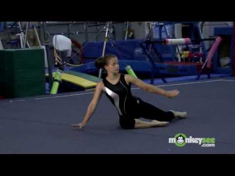 Gymnastics Floor Routine - Starting a