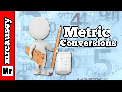 How to Convert Metric Measurements and Prefixes - Mr. Causey's Chemistry