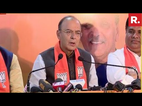 Gujarat's GSDP Growth Is Highest In India Says Arun Jaitley | Full Press Conference