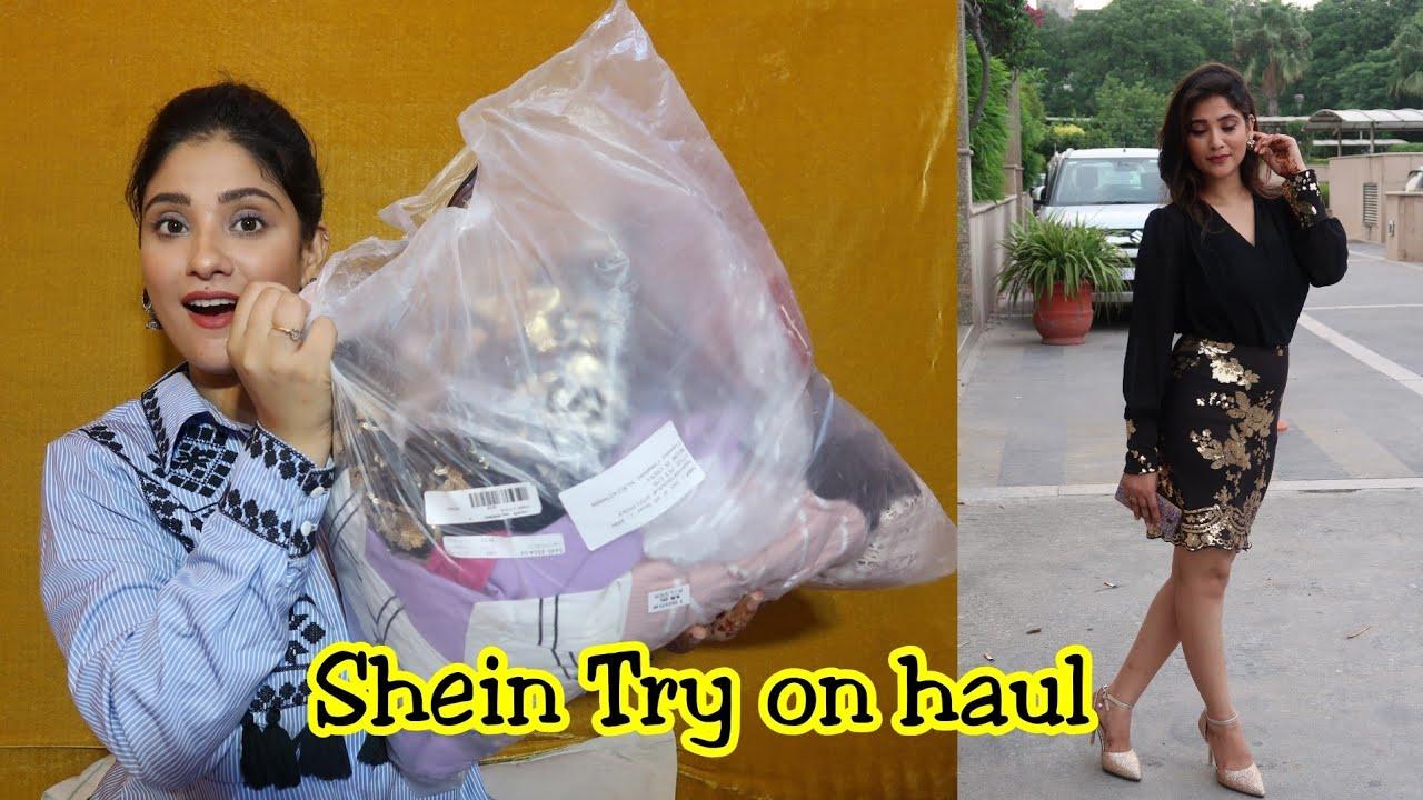 b73d386d58 Shein Try on haul || start 400/- || Shystyles - YouTube