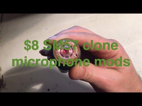 Microphone Mods: De-suckifying An SM57 Clone