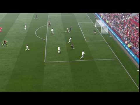FIFA 17: Suso vs Manchester United Defense