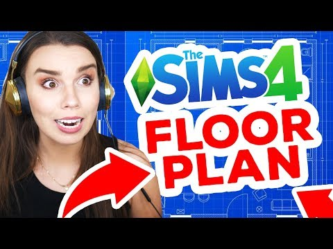 FLOOR PLAN CHALLENGE *Destroyed my brain* [ The Sims 4 ] thumbnail