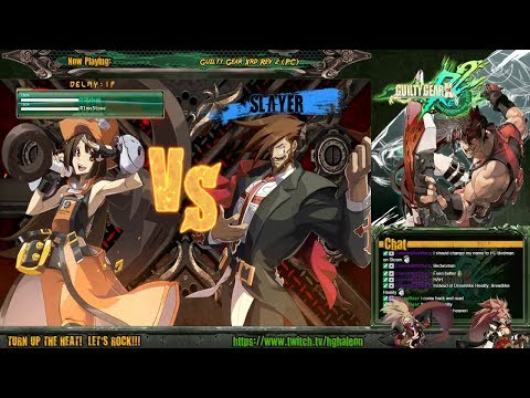 Guilty Gear Xrd Rev 2 PC Online Lobby Matches - HGhaleon (May) Vs R1me5stone (Slayer)