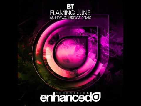 Клип BT - Flaming June (Ashley Wallbridge Remix)