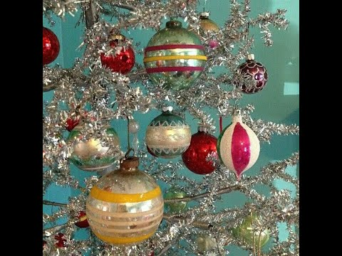 Vintage Shiny Brite Christmas Ornaments! from YouTube · Duration:  4 minutes 52 seconds