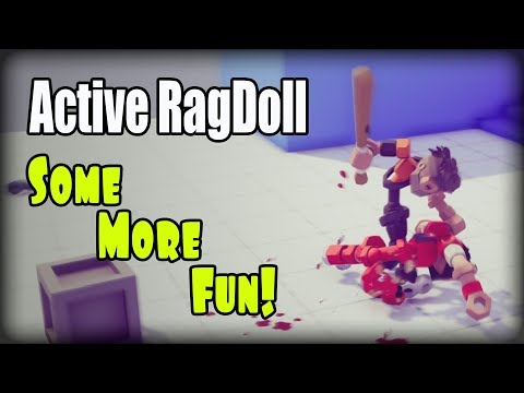 Active RagDoll In Unity (Unity 3D), Some More Fun!