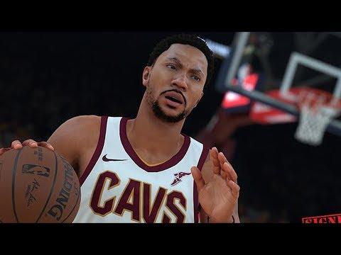 087c9af58c30 NBA 2K18 Derrick Rose Screenshot and Rating! - YouTube