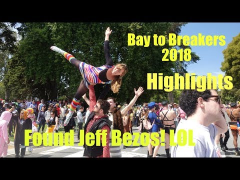 Found Jeff Bezos at Bay to Breakers - B2B highlights!