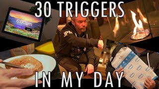 30 Triggers In My day | An ASMR Short (4K)