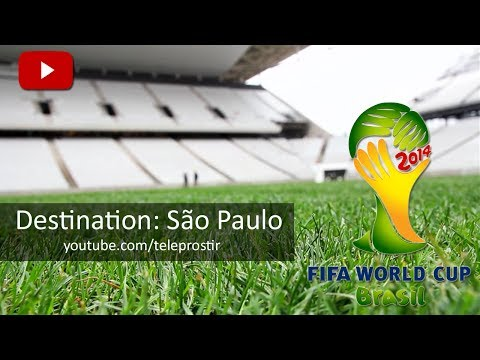 FIFA World Cup 2014. Destination: Sao Paulo, Arena de São Paulo