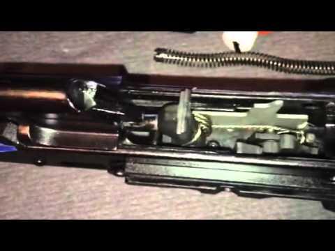 ALG trigger on a saiga by Down Range 210