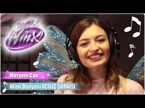 Winx Club – Meryem Can Winx Dünyası açılış şarkısını seslendiriyor!