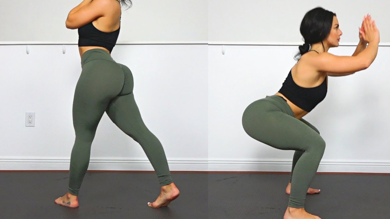 Rounder Glutes AND Sexy Legs with this Home Squat Workout (No Equipment Need)