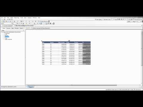 Web Intelligence - Context Operators