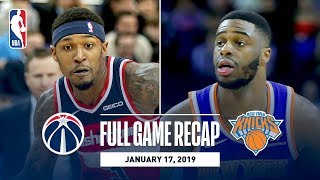 Full Game Recap: Knicks vs Wizards | New York & Washington Go Down To The Wire In London