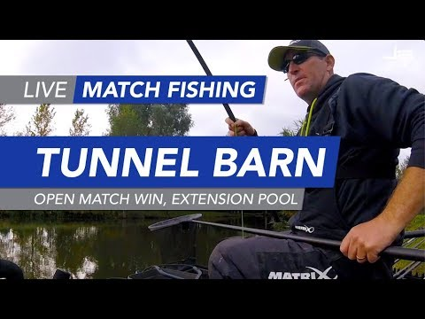 Live Match Fishing: Tunnel Barn Farm, Open Match Win, Extension Pool