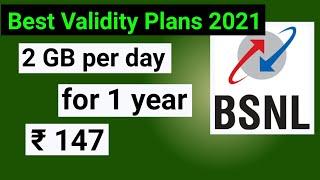 BSNL Validity Plans 2021 | BSNL Data plans 2021 | BSNL data plans 365 days | Validity Plans for BSNL