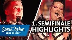Erstes Halbfinale: Tops und Flops von Alina und Stefan | Eurovision Song Contest | NDR