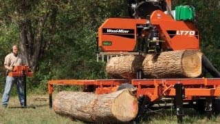 Wood-Mizer LT70 High Production Portable Sawmill: The Pinnacle of Sawing Performance