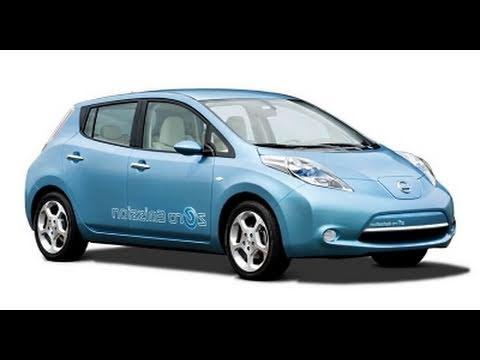 2011 nissan leaf battery electric car first drive. Black Bedroom Furniture Sets. Home Design Ideas