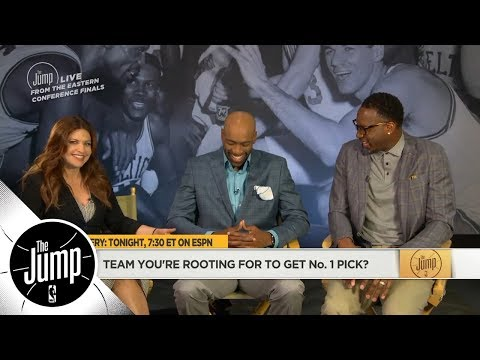 Vince Carter, Tracy McGrady and Rachel Nichols preview 2018 NBA draft lottery | The Jump | ESPN