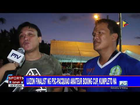 SPORTS BALITA: Luzon finalist ng PSC-Pacquiao Amateur Boxing Cup, kumpleto na