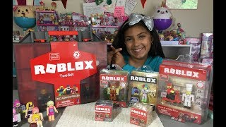 Roblox Tool Kit and Roblox Figures Series 1 and 2