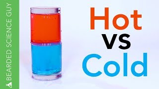 Hot vs Cold Water Experiment (Chemistry)