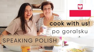cook with my mom and I IN POLISH | ELA BOBAK